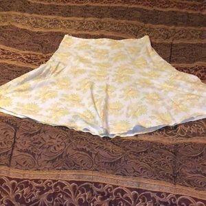 Lined summer skirt